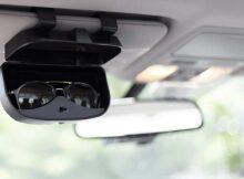 sunglasses holder for car